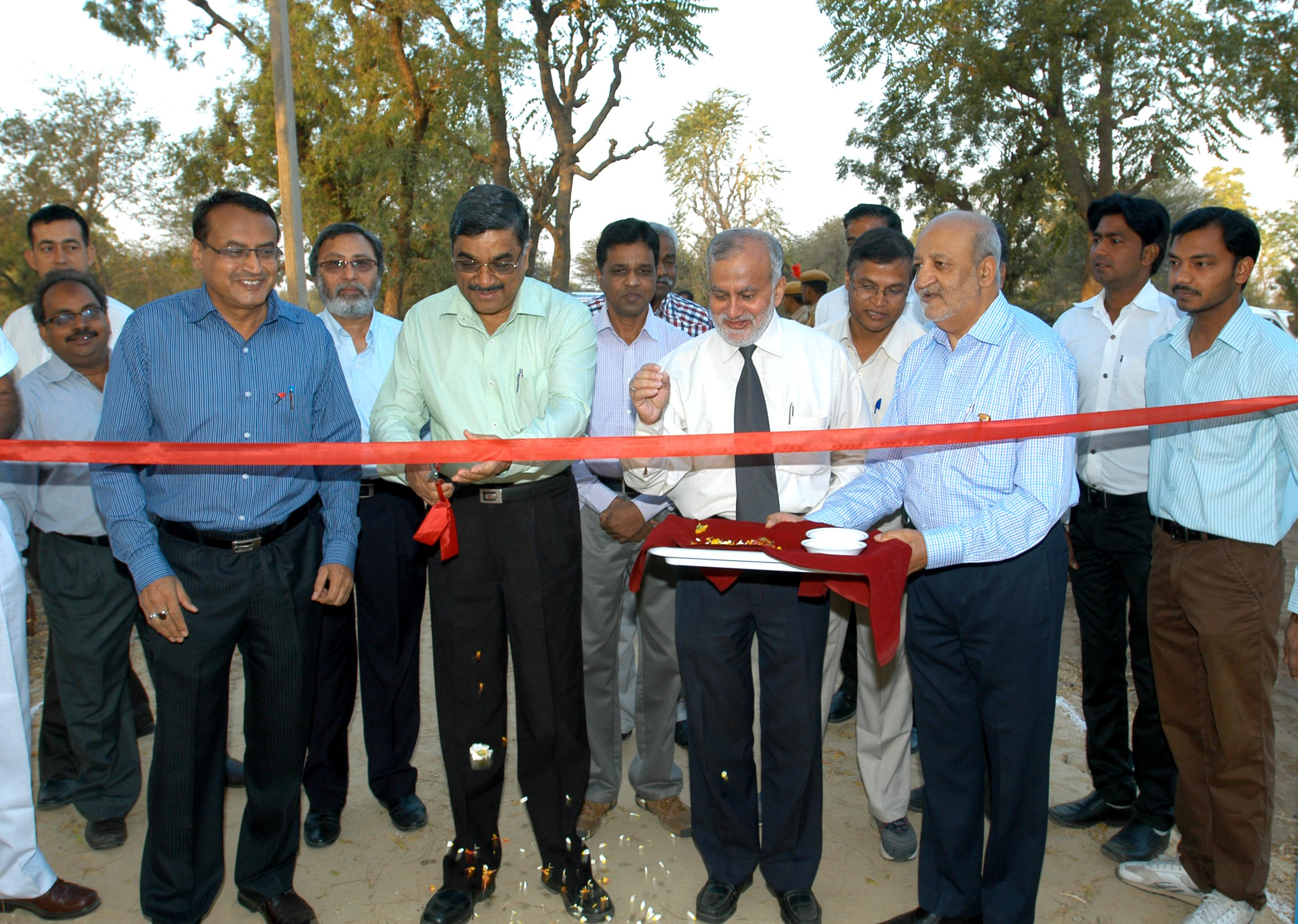 Site Inaugration of Proposed Farmers Hostel
